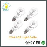 Stoele St64 2W sternenklare LED Birneedison-Lampen-energiesparendes Zeichenkette-Licht