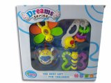 아이 플라스틱 교육 가르랑거리는 소리 아기 장난감
