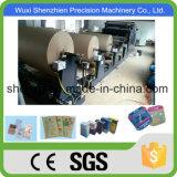 Sacco di carta del cemento ad alta velocità automatico pieno approvato dello SGS che fa macchina