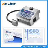 Impresora de inyección de tinta del Dod de la máquina de la codificación del tratamiento por lotes para el rectángulo del cartón (EC-DOD)