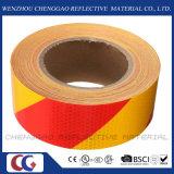 까맣고 & 노란 줄무늬 사려깊은 위험 자동 접착 테이프 (C3500-S)