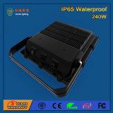 luz de inundación al aire libre de 110lm/W 240W SMD 3030 LED