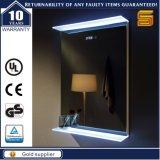 Dekoratives geleuchteter Spiegel der Cer-Bescheinigungs-LED kupfernes freies Badezimmer
