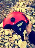Capacete colorido da escalada de rocha do EPS do capacete elevado do esporte da quantidade