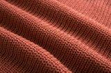 Chandail de cardigan tricoté par gland irrégulier de femmes lâchement
