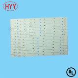 Weiße Lötmittel-Schablone mit LED-Schaltkarte-Leiterplatte (HYY-198)