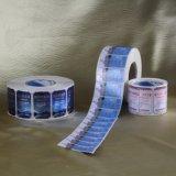 Autoadesivo del contrassegno stampato adesivo su ordinazione di alta qualità