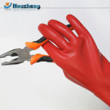 Резины латекса типа 0 фабрики Китая перчатки электрической изолируя