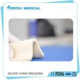 Preparación de plata espuma AG del vendaje para heridas FDA 510k de Foryou