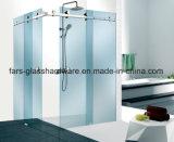 Conjunto de hardware para gabinete de chuveiro deslizante de vidro Frameless (FS-011)