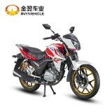 bici dorata di sport del motociclo della via raffreddata aria 150cc