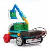 1488723-4 en 1 bloques teledirigidos del kit RC del bloque de los vehículos de la ingeniería fijar el juguete creativo 127PCS - color de la educación al azar