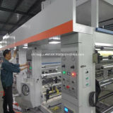 Economische Machine Met gemiddelde snelheid van de Druk van de Gravure van 8 Kleur 110m/Min
