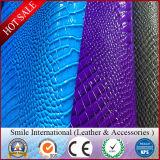 O uso de imitação de couro do revestimento protetor do algodão do PVC calç sacos e vendas por atacado da fábrica do sofá