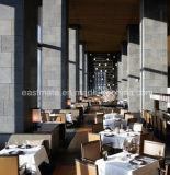純木フレーム、商業レストランの家具と現代2017年の食事の椅子