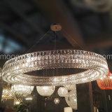 Lustre en cristal égyptien en cristal de grand cercle de luxe européen