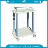 AG-Lpt005A con las barandillas de los Ss para el carro móvil de trabajo de mudanza de la enfermera