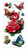 Etiqueta engomada temporal del tatuaje del arte de la etiqueta engomada del tatuaje de la mandala de moda 3D