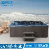 TERMAS ao ar livre da fibra de vidro da massagem do Whirlpool do ar de 7 povos (M-3320)
