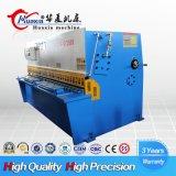 Máquina de corte hidráulica do balanço Beam10*6000 Nc do aço de carbono de QC12k com sistema do controlador de E21s