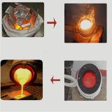 Horno fusorio de cobre de la máquina de calefacción de inducción de la fuente de la fábrica