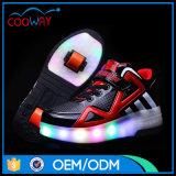 يشعل تصميم كلاسيكيّة فوق هروب أحذية [بو] عجلات أحذية