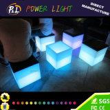 Mobilia del LED che illumina la presidenza del cubo del LED illuminata presidenza cubica