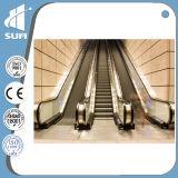Эскалатор Vvvf шага нержавеющей стали скорости 0.5m/S крытый