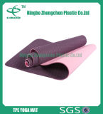 Le couvre-tapis confortable de yoga de vente chaude/couvre-tapis d'exercice ne se fanent pas des couvre-tapis de yoga