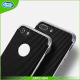 Fibra 2 del carbonio dei nuovi prodotti in 1 copertura protettiva del coperchio del telefono del silicone di TPU+PC per la cassa della galassia S7 di Samsung