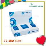 Promoción Facial Paper Tissue Box con bolas de algodón y guantes