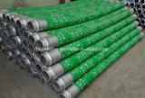 Manguito de goma flexible trenzado del extremo de la bomba concreta del alambre de acero de la fuente de la fábrica de China