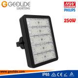 Luz 250W del túnel de Philps SMD 3030 LED de la calidad con el Ce RoHS (TL101-250W) del programa piloto IP65 de Meanwell