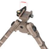 A caça tática Bipod Sr-5 do tiro de Airsoft do injetor Accu-ATC destaca rapidamente o Bi-Vagem ajustável do rifle de Bipod Zoomable da ação