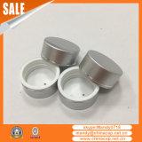 tampão de alumínio do metal de 38mm45mm53mm para o frasco plástico