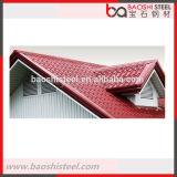 Hoja curvada usada decorativa al aire libre del azulejo de azotea de la prueba del escape