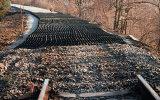 Bahnunterbau-Verstärkung Using Geocell
