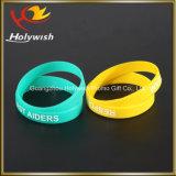 2016 braccialetti su ordine del silicone del commercio all'ingrosso del Wristband degli uomini