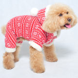 De Kleren van de Winter van het Huisdier van het Kostuum van Kerstmis van de hond