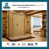 Frameless Glasschiebetür, Glasdusche-Zelle-Tür für Haus und Hotel