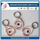 Tag Em-Marinho dos Fobs dos anéis chaves de Em4200 RFID para a identificação