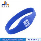 Wristband высокочастотного франтовского силикона RFID всеобщий для патрулей воды