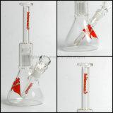 Fumo fundido mão do Hitman feito da tubulação de água de vidro para fumar 10 ''  Taça 8 Percolator do braço da árvore