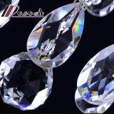 Amerikanisches Kristallmetall gebogenes Arm-hängendes Licht für Flur