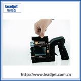 piccola stampatrice tenuta in mano portatile del codice a barre del getto di inchiostro