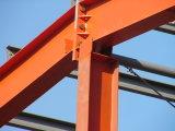 Estructura de acero pintada elegante para el cuadrado comercial
