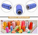 Filé visqueux de filament de broderie de rayonne multicolore d'amorçage