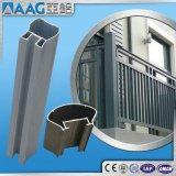 Profil en aluminium/en aluminium d'extrusion pour la frontière de sécurité