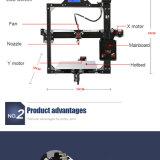 큰 활자 크기를 가진 Anet A2 탁상용 3D 인쇄 기계
