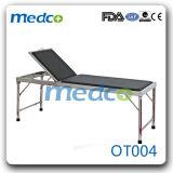 조정가능한 스테인리스 병원 신체 검사 테이블